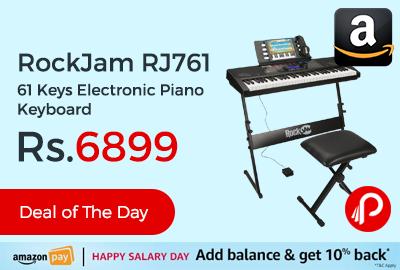 RockJam RJ761 61 Keys Electronic Piano Keyboard