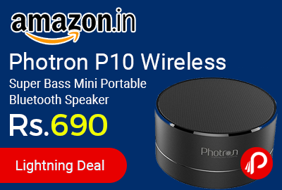 Photron P10 Wireless Super Bass Mini Portable Bluetooth Speaker