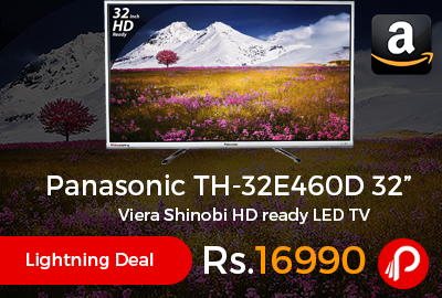 "Panasonic TH-32E460D 32"" Viera Shinobi HD ready LED TV"