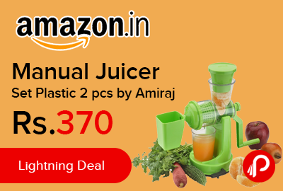 Manual Juicer Set Plastic 2 pcs