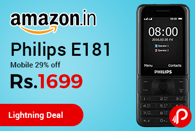 Philips E181 Mobile