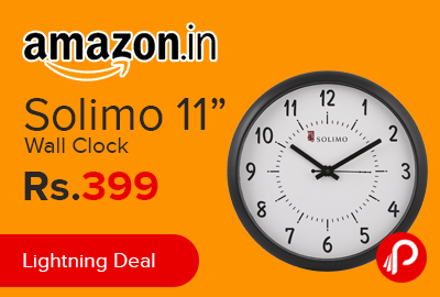 "Solimo 11"" Wall Clock"