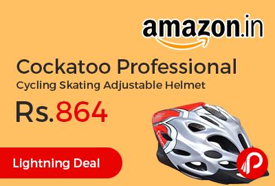 Cockatoo Professional Cycling Skating Adjustable Helmet
