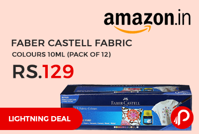 Faber Castell Fabric Colours 10ml