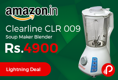 Clearline CLR 009 Soup Maker Blender