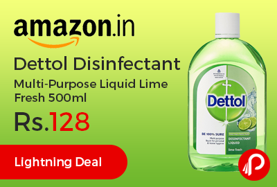 Dettol Disinfectant Multi-Purpose Liquid Lime Fresh 500ml