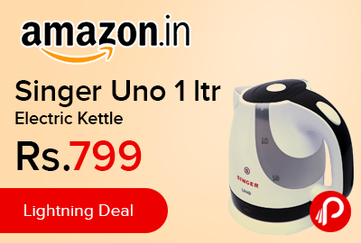 Singer Uno 1 ltr Electric Kettle