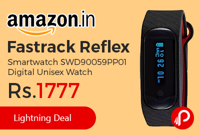 Fastrack Reflex Smartwatch SWD90059PP01 Digital Unisex Watch