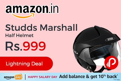 Studds Marshall Half Helmet