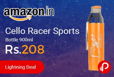 Cello Racer Sports Bottle 900ml