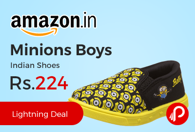 Minions Boys Indian Shoes