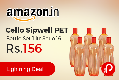 Cello Sipwell PET Bottle Set 1 ltr