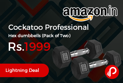 Cockatoo Professional Hex dumbbells