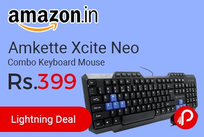 Amkette Xcite Neo Combo Keyboard Mouse