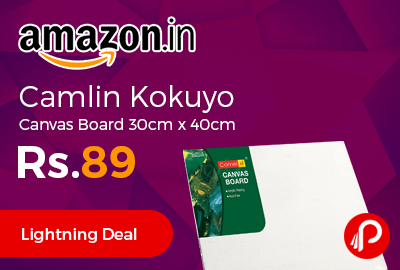 Camlin Kokuyo Canvas Board