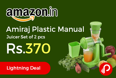 Amiraj Plastic Manual Juicer