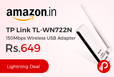 TP Link TL-WN722N 150Mbps Wireless USB Adapte