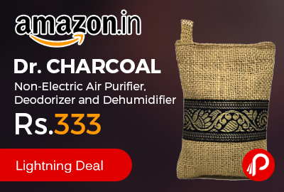 Dr. CHARCOAL Non-Electric Air Purifier, Deodorizer and Dehumidifier