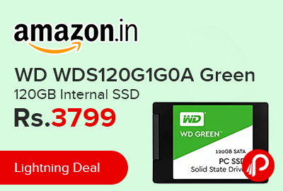 WD WDS120G1G0A Green 120GB Internal SSD
