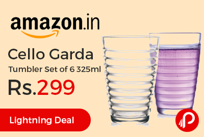 Cello Garda Tumbler Set of 6 325ml