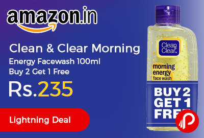 Clean & Clear Morning Energy Facewash 100ml