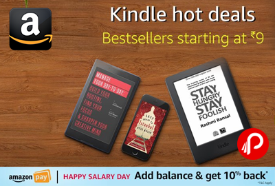 Kindle Hot Deals Bestsellers eBoooks