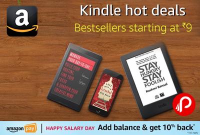 Kindle Hot Deals Bestsellers eBoooks