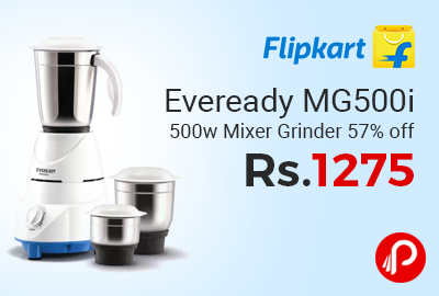 Eveready MG500i 500w Mixer Grinder
