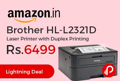 Brother HL-L2321D Laser Printer with Duplex Printing