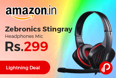 Zebronics Stingray Headphones
