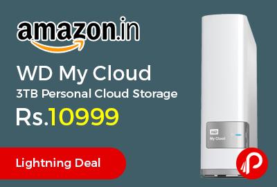 WD My Cloud 3TB Personal Cloud Storage