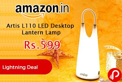 Artis L110 LED Desktop Lantern Lamp
