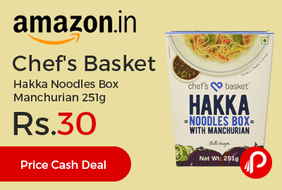 Chef's Basket Hakka Noodles Box Manchurian 251g