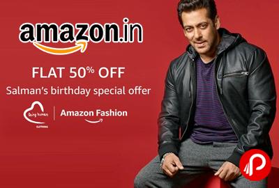 Salman Birthday Special Offer