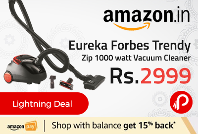Eureka Forbes Trendy Zip 1000 watt Vacuum Cleaner