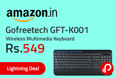 Gofreetech GFT-K001 Wireless Multimedia Keyboard