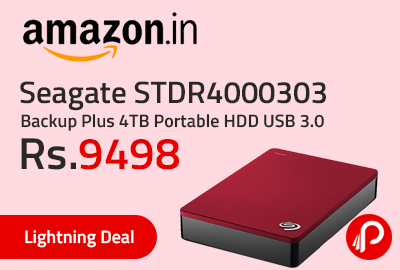 Seagate STDR4000303 Backup Plus 4TB Portable HDD USB 3.0