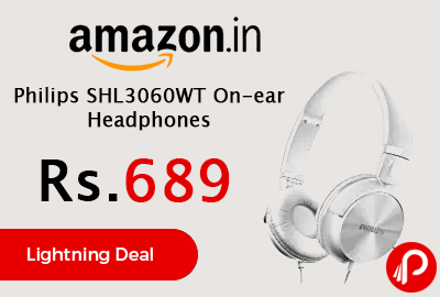 Philips SHL3060WT On-ear Headphones