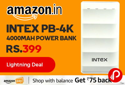 Intex PB-4K 4000mAH Power Bank