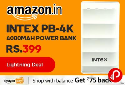 Intex PB-4K 4000mAH Power Bank