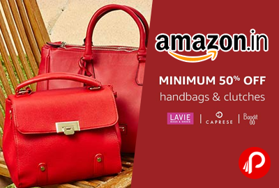 fd2e8b71c6bec7 Handbags and Clutches Minimum 50% off – Amazon