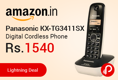 Panasonic KX-TG3411SX Digital Cordless Phone