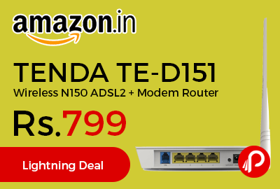TENDA TE-D151 Wireless N150 ADSL2+ Modem Router