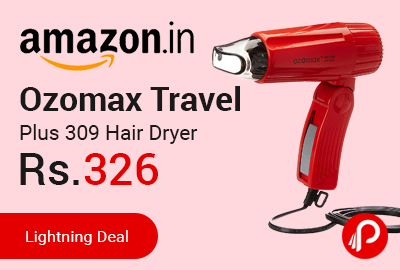 Ozomax Travel Plus 309 Hair Dryer