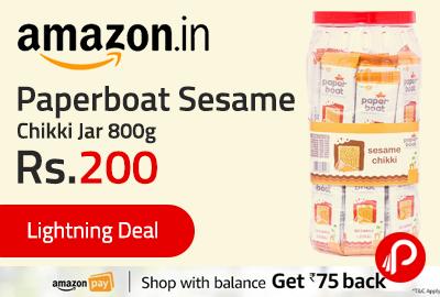 Paperboat Sesame Chikki Jar 800g
