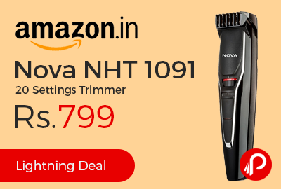 Nova NHT 1091 20 Settings Trimmer