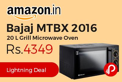 Bajaj MTBX 2016 20 L Grill Microwave Oven