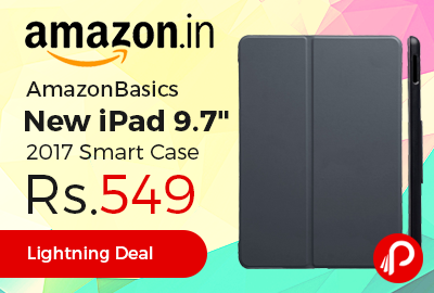 "AmazonBasics New iPad 9.7"" 2017 Smart Case"
