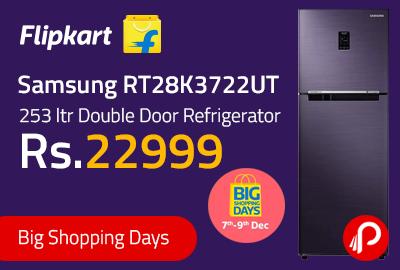 Samsung RT28K3722UT 253 ltr Double Door Refrigerator