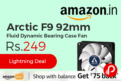 Arctic F9 92mm Fluid Dynamic Bearing Case Fan